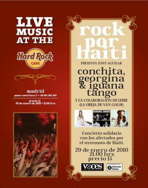 Rock por Haití