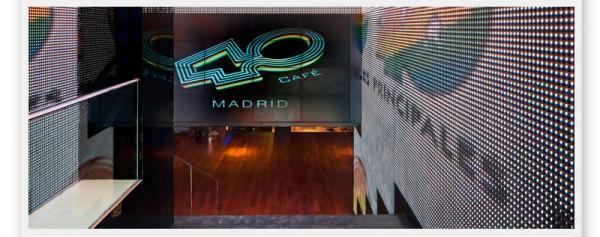 Inauguración de 40 café Madrid con Lenny Kravitz