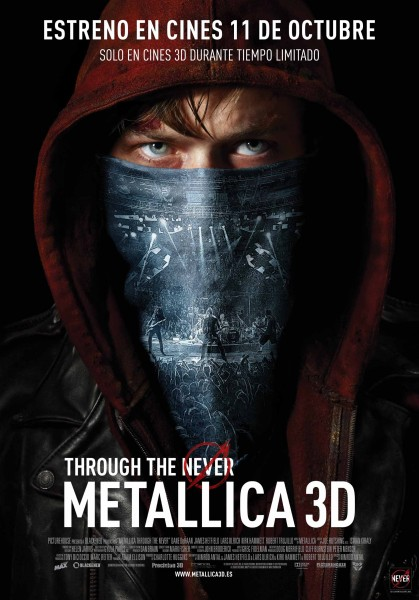 METALLICA 3D, THROUGH THE NEVER
