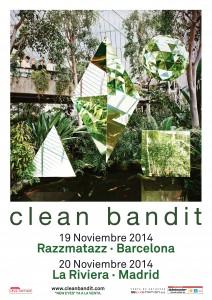 Clean Bandit Poster