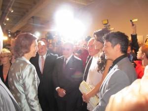 Alejandro Sanz homenajeado por la Reina Sofía