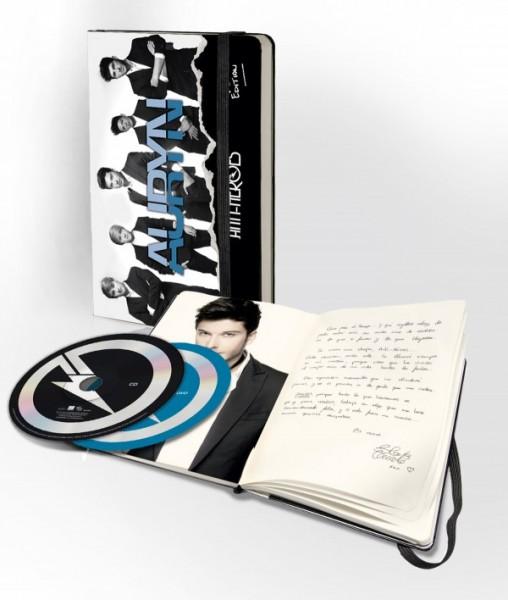 AURYN  LANZA AL MERCADO EL PRÓXIMO 10 DE DICIEMBRE ANTI- HÉROES DELUXE EDITION CD+ DVD + LIBRETA