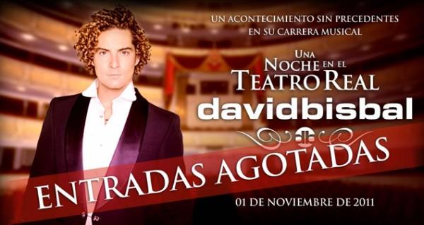 David Bisbal en el Teatro Real