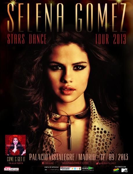cartel Selena Gómez