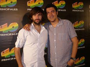 """Con David """"El Pescao"""" Otero"""