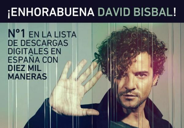 Enhorabuena David Bisbal