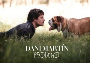 Dani Martín y su perro Blas