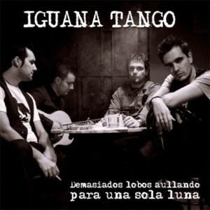 Portada del nuevo disco de Iguana Tango