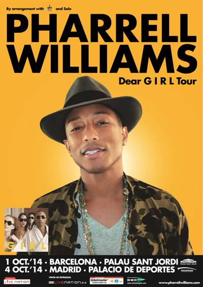 Cartel Pharell Williams