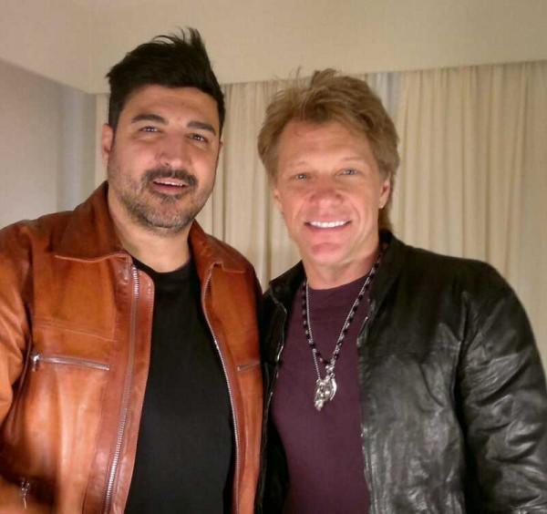 Con Bon Jovi en Berlín