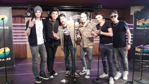 The Wanted, Welcome to Spain!
