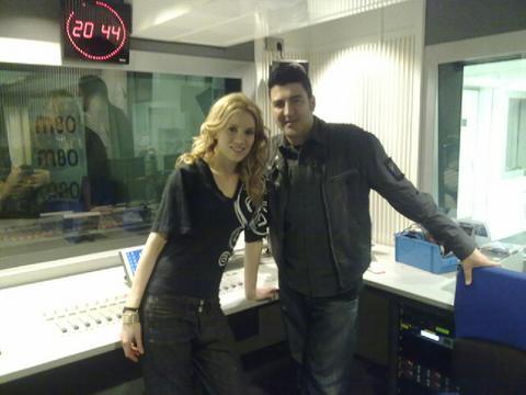 Con Susan Martín
