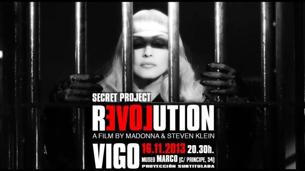 Llega a España la proyección de SECRET PROJECT REVOLUTION, el cortometraje de Madonna y Steven Klein