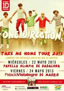 One Direction - Sorteo de posters de calle de gira española
