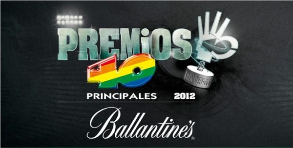 Fiesta de presentación de los nominados a los Premios 40 Principales 2012