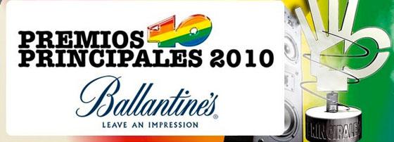 Premios 40 Principales 2010