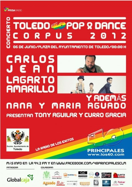 Toledo Pop & Dance Corpus 2012
