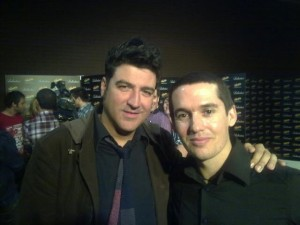 Tony con Jorge de Maldita Nerea