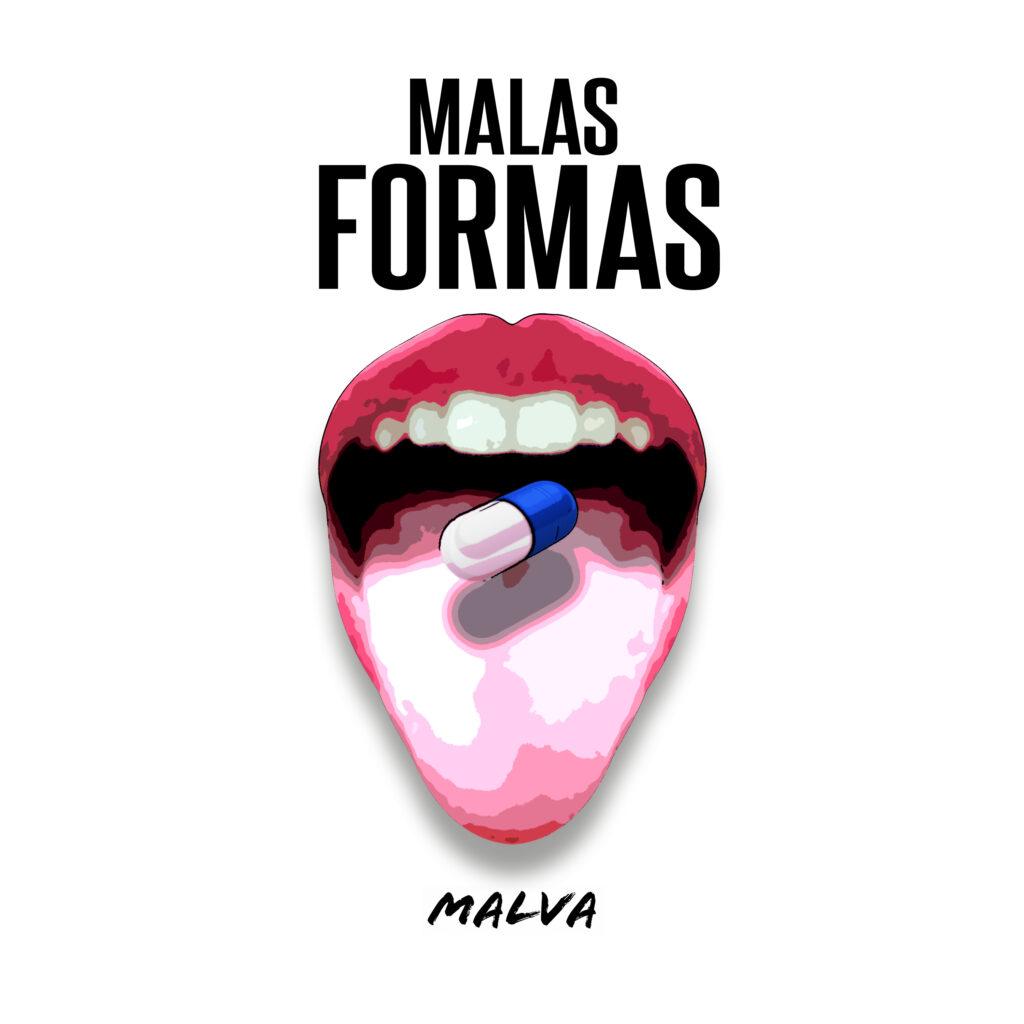PORTADA MALAS FORMAS SINGLE