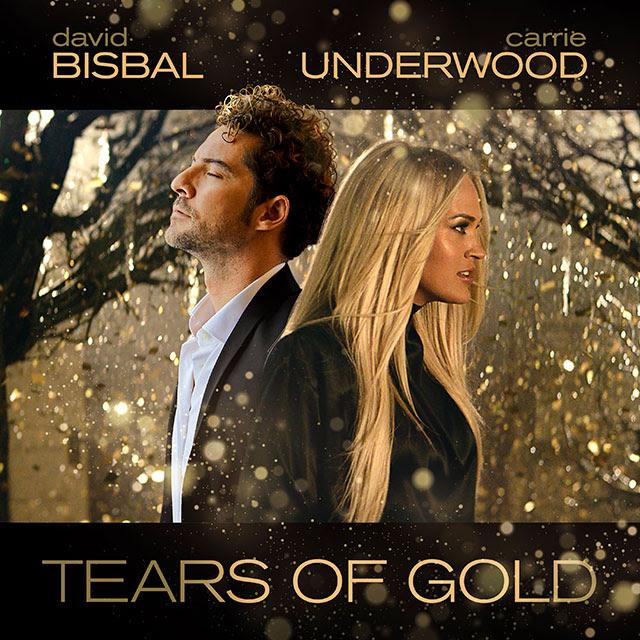 Dos Estrellas Internacionales David Bisbal Y Carrie Underwood Estrenan Hoy Tears Of Gold